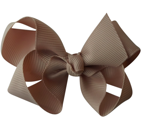 Vanilla bow hair clips | Bows by Staer