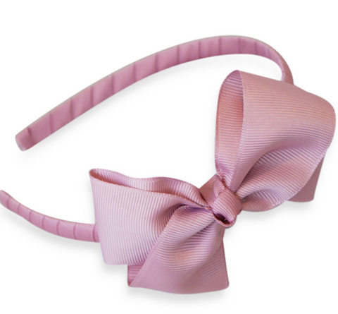 Rose bow hairband | Bows by Staer