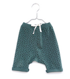 Green baby children shorts | Monsieur Mini