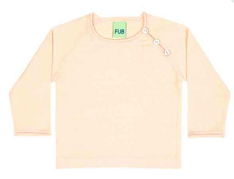 Faded rose baby knit top | FUB