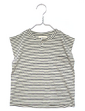 Black and white stripe sleeveless top | Monsieur Mini