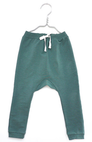 Green baby childrens leggings | Monsieur Mini