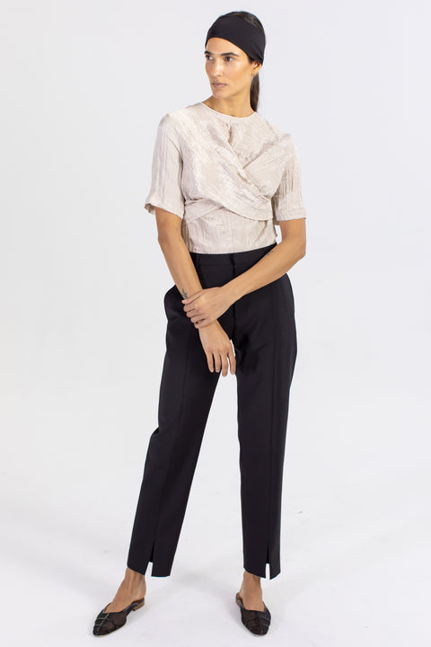 Piper Slim Pant With Slits