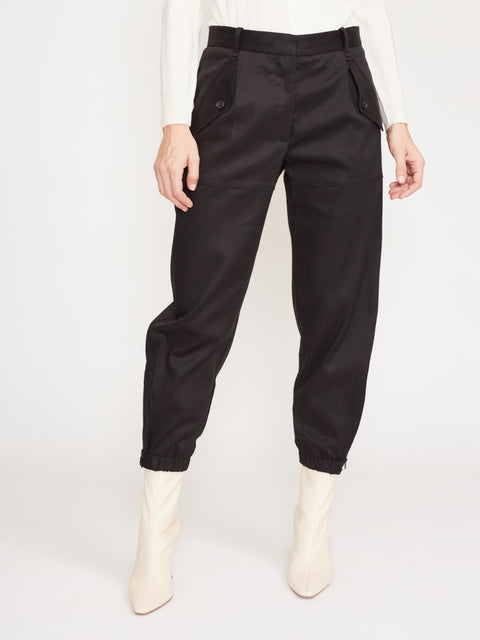 Arliss Tapered Pant,Nili Lotan,- Fivestory New York