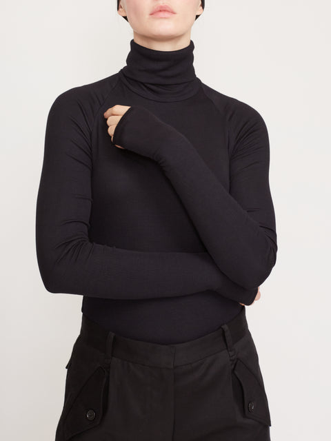 Varick Ribbed Turtleneck Bodysuit