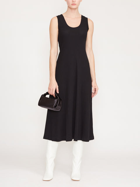 U-Neck Ribbed Tank Dress