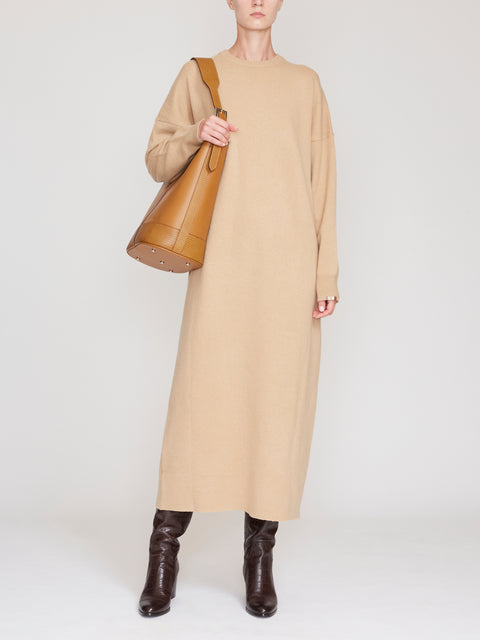 No.106 Weird Long Sleeve Sweater Dress