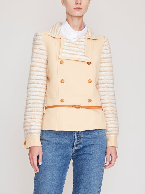 Courrèges Panelled Jacket FR38