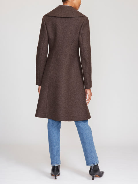 Azzedine Alaïa Double-Breasted Wool Coat FR42
