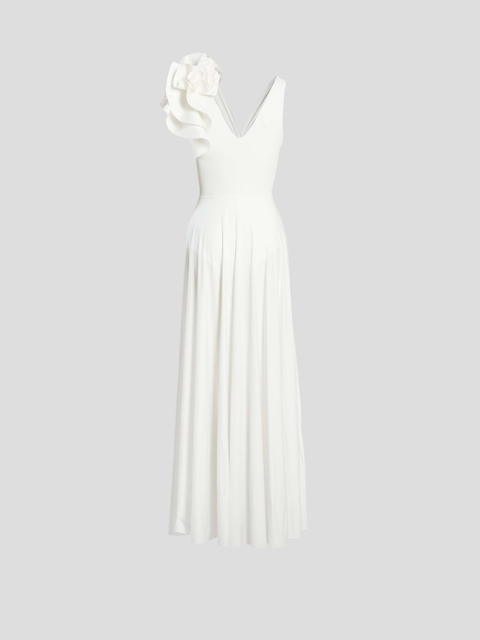 Blanca Off White Reversible Maxi Dress