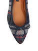 Pointe Flat in Tartan Plaid