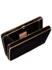 Black Velvet Compact Square Clutch,Hunting Season,- Fivestory New York