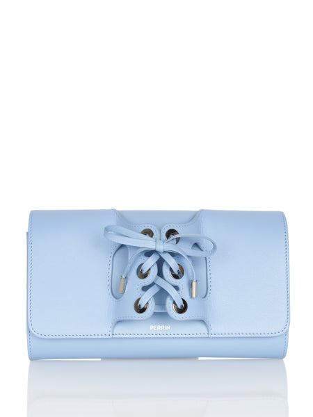 Le Corset Leather Clutch