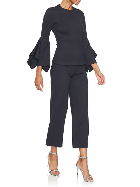 Pull On Straight Jersey Pant