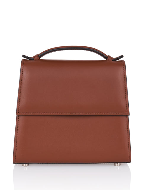 Small Leather Top Handle Bag