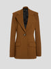 Wool Double Sleeve Blazer