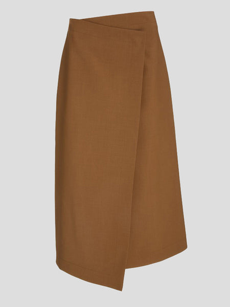 Hayden Wrap Midi Skirt