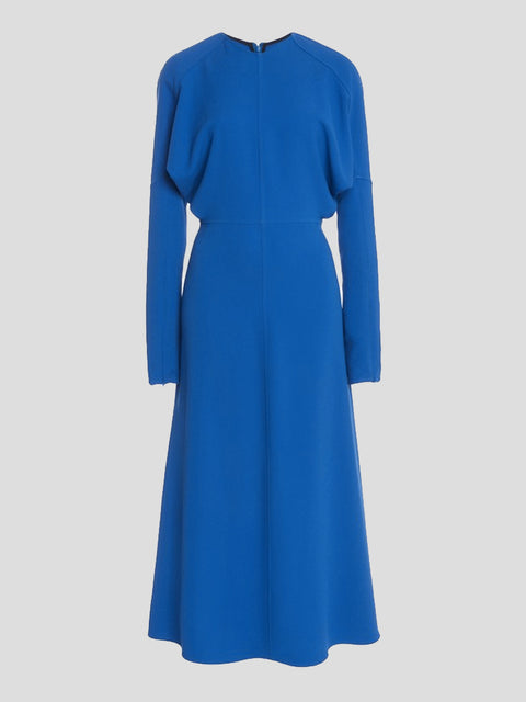 Dolman Sleeve Midi Dress