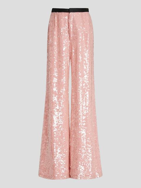 Chloris Sequin Wideleg Pants