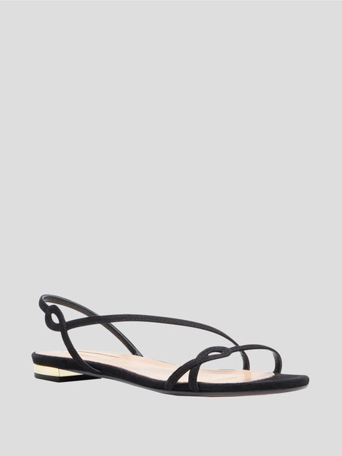 Serpentine Slingback Sandals