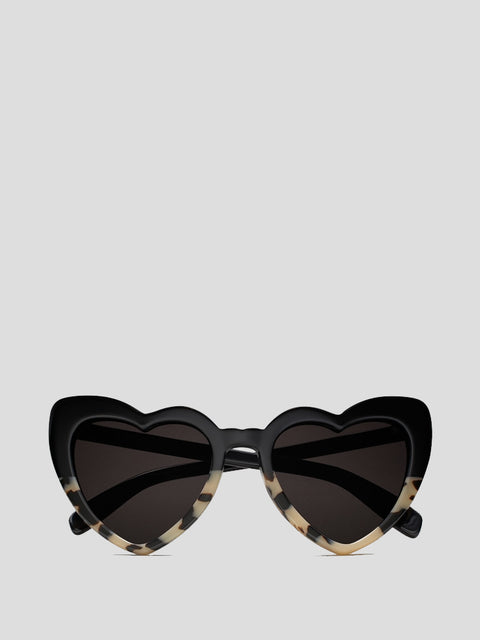 Loulou Heart-Shaped Sunglasses