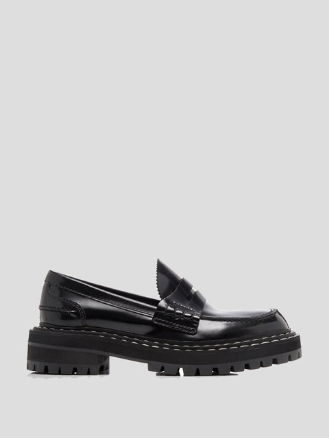 Tread Sole Loafers