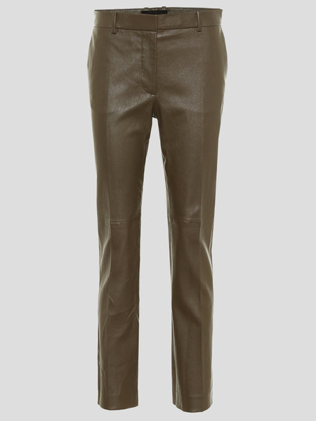 Coleman Stretch Leather Cig Pants