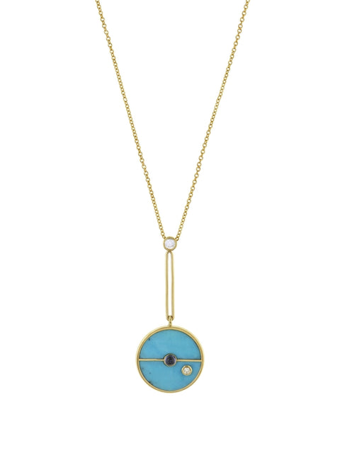 Signature Compass Pendant Necklace