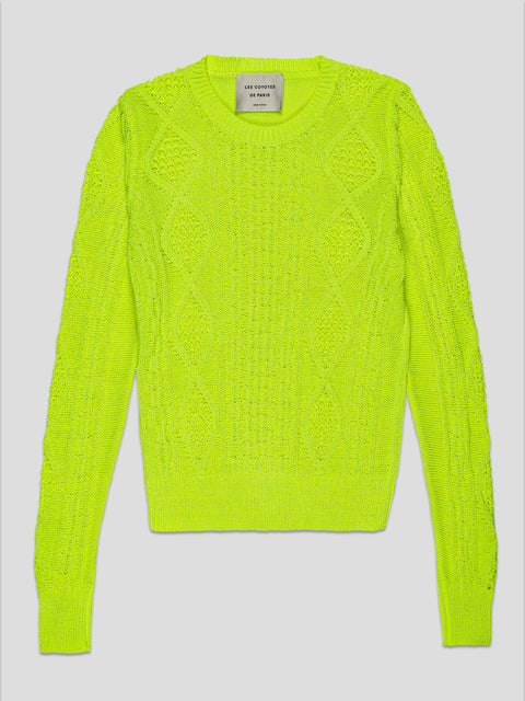 Magnolia Neon Yellow Sweater