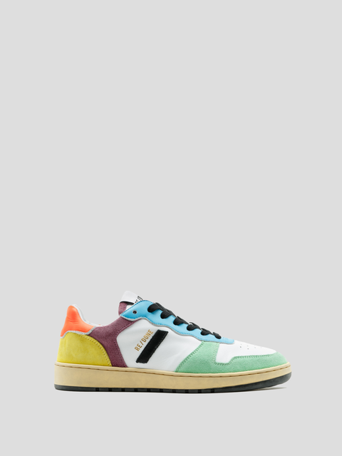 80s Basketball Multi Color Basketball Sneaker