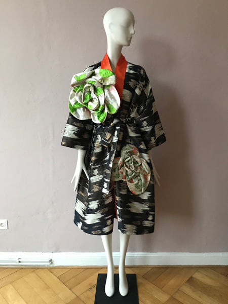 One Of A Kind Flower Coat,Rianna + Nina,- Fivestory New York