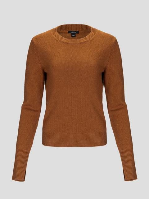 Crewneck Pure Cashmere Sweater