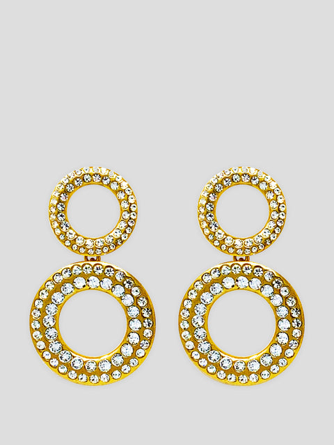 Tosca Crystal Earrings