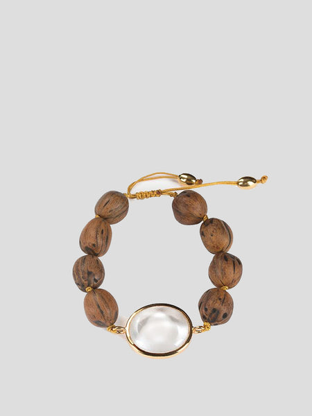 Theia Small Wood Braclet