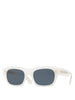 Isba White Sunglasses