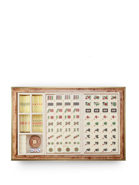 Shagreen Mahjong Set