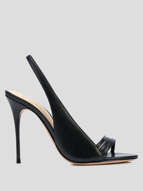 Lenny Strappy Slingback Sandals,Alexandre Birman,- Fivestory New York