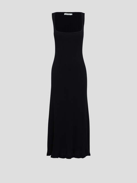 Dido Black Knit Dress