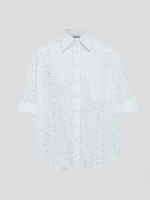 Harriet White Boxy Shirt
