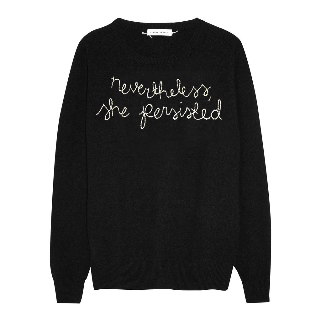 Nevertheless She Persisted Sweater - Fivestory New York