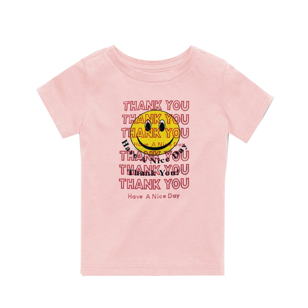Children's Thank You T-Shirt Pink,Rosie Assoulin,- Fivestory New York