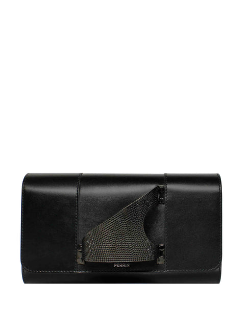L'Eiffel Crystal-Embellished Clutch