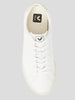 Esplar Laceup Sneakers in White Leather