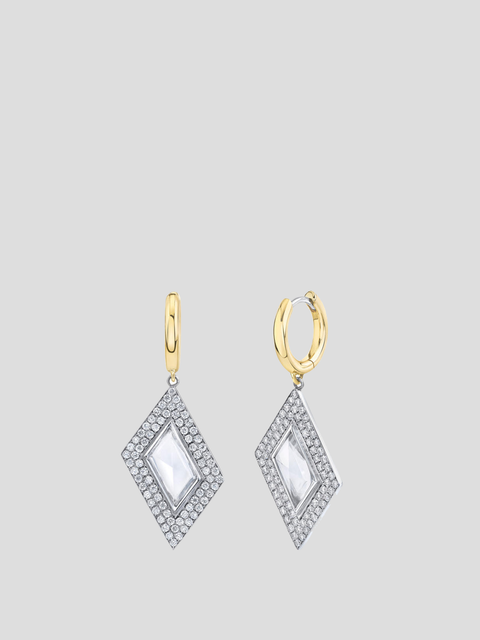 Rhomboid Earrings
