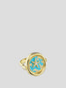 Water Element 18k Yellow Gold, Diamond and Agate Ring,Ana Katarina,- Fivestory New York