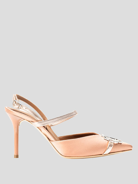 85mm Melinda Crystal Buckle Pump
