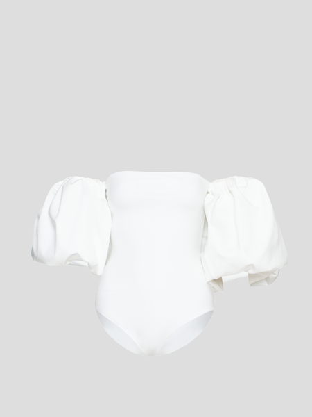 Theo Off White Strapless One Piece