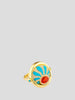 Fire Element 18k Yellow Gold, Diamond an Opal Ring,Ana Katarina,- Fivestory New York