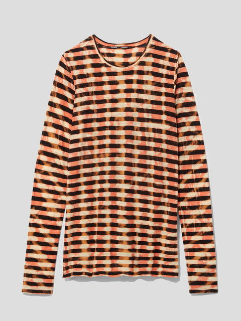 Tie-Dye Striped T-Shirt,Proenza Schouler,- Fivestory New York