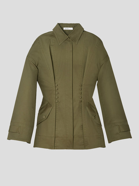 Trench Coating Workwear Jacket